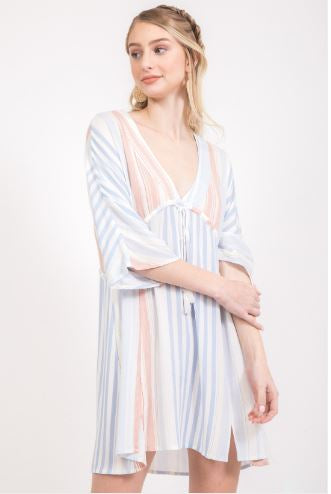 Striped Cover-up / Dress
