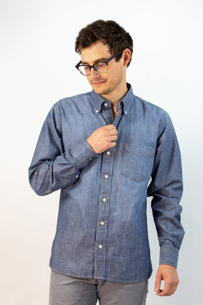 Carolina Chambray Button-Down