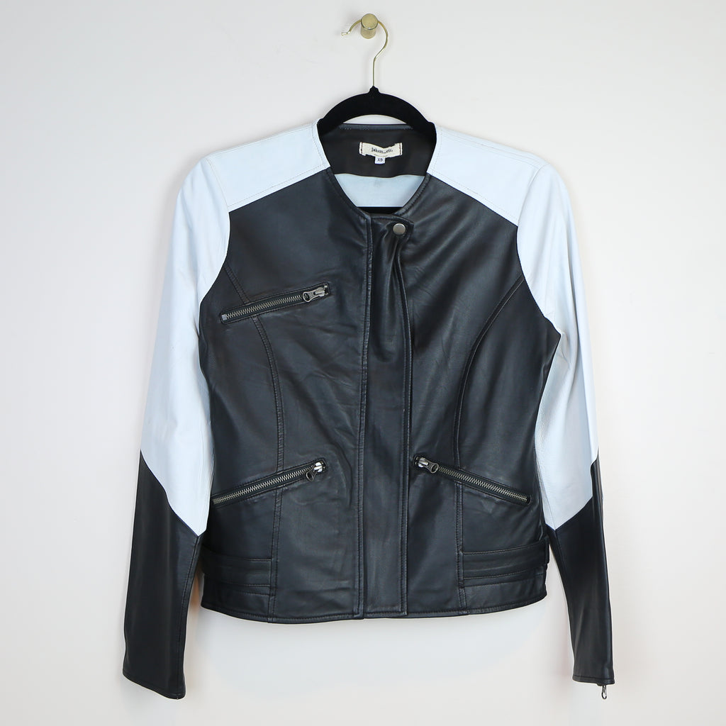 Chloe Enzyme Jacket in Black/White - DI