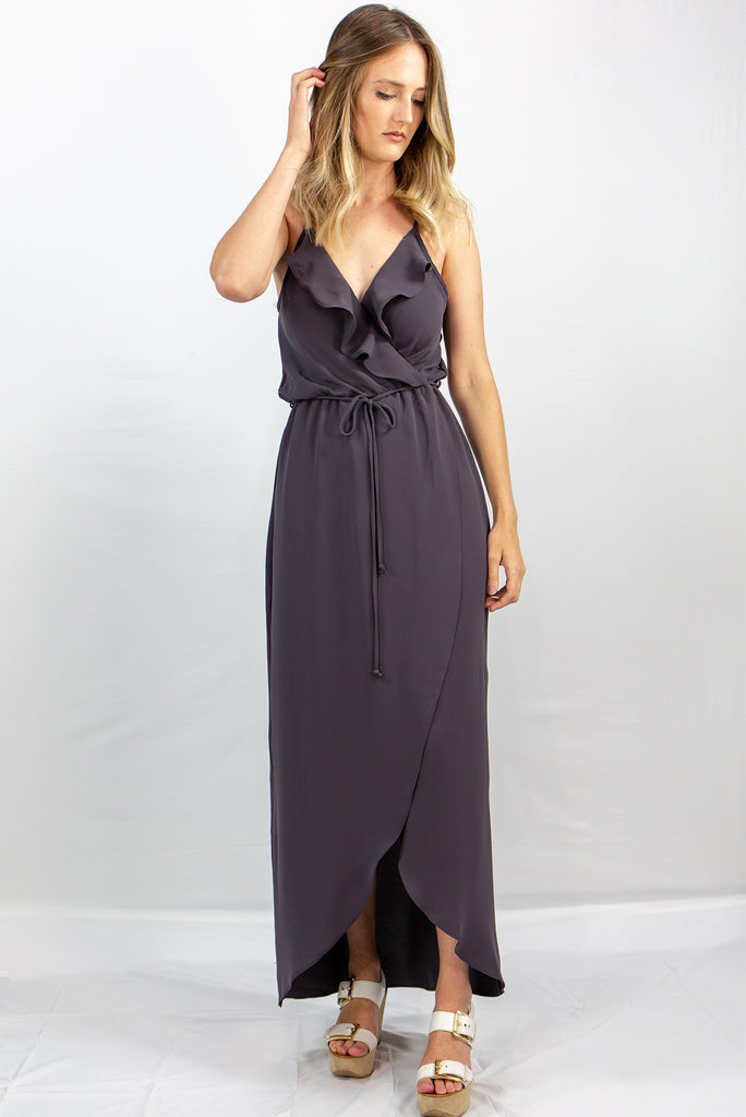 Everly Maxi w/Front Ruffle