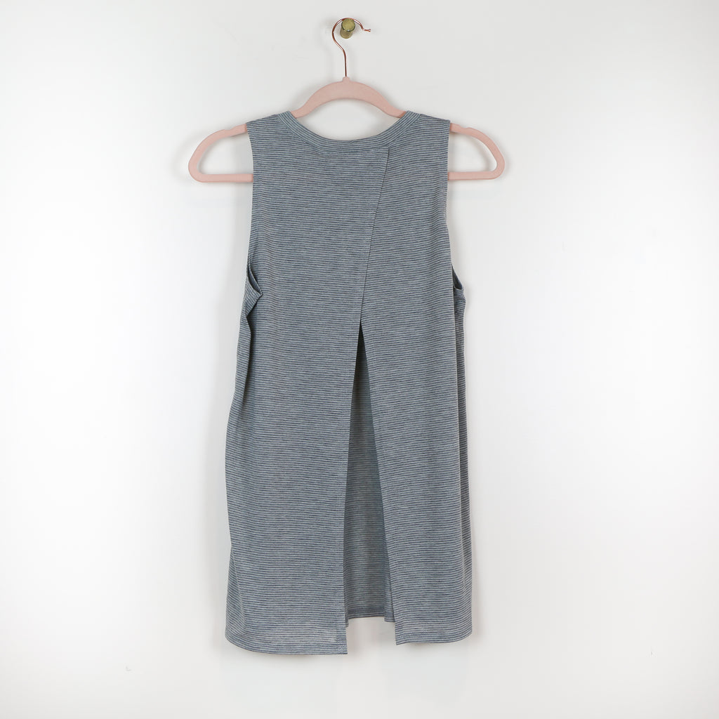 Gray Tank w/Open Back - DI