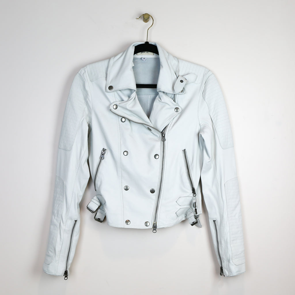 Harlie Enzyme Jacket in White - DI