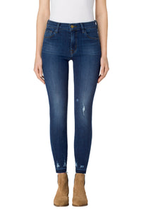 835 Mid-Rise Crop Skinny in Tonic