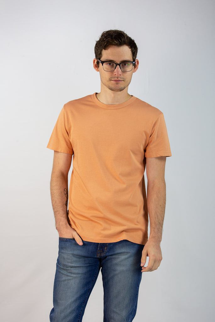 Men's Basic Burnt Orange Tee