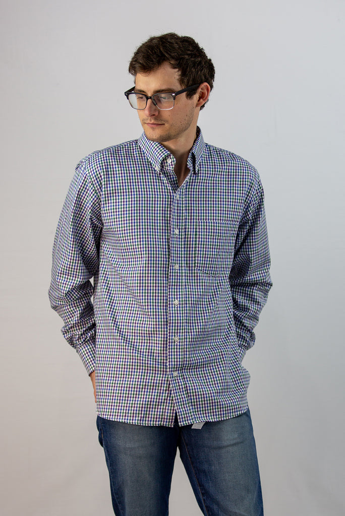 Men's Wrangell Check Button-Down