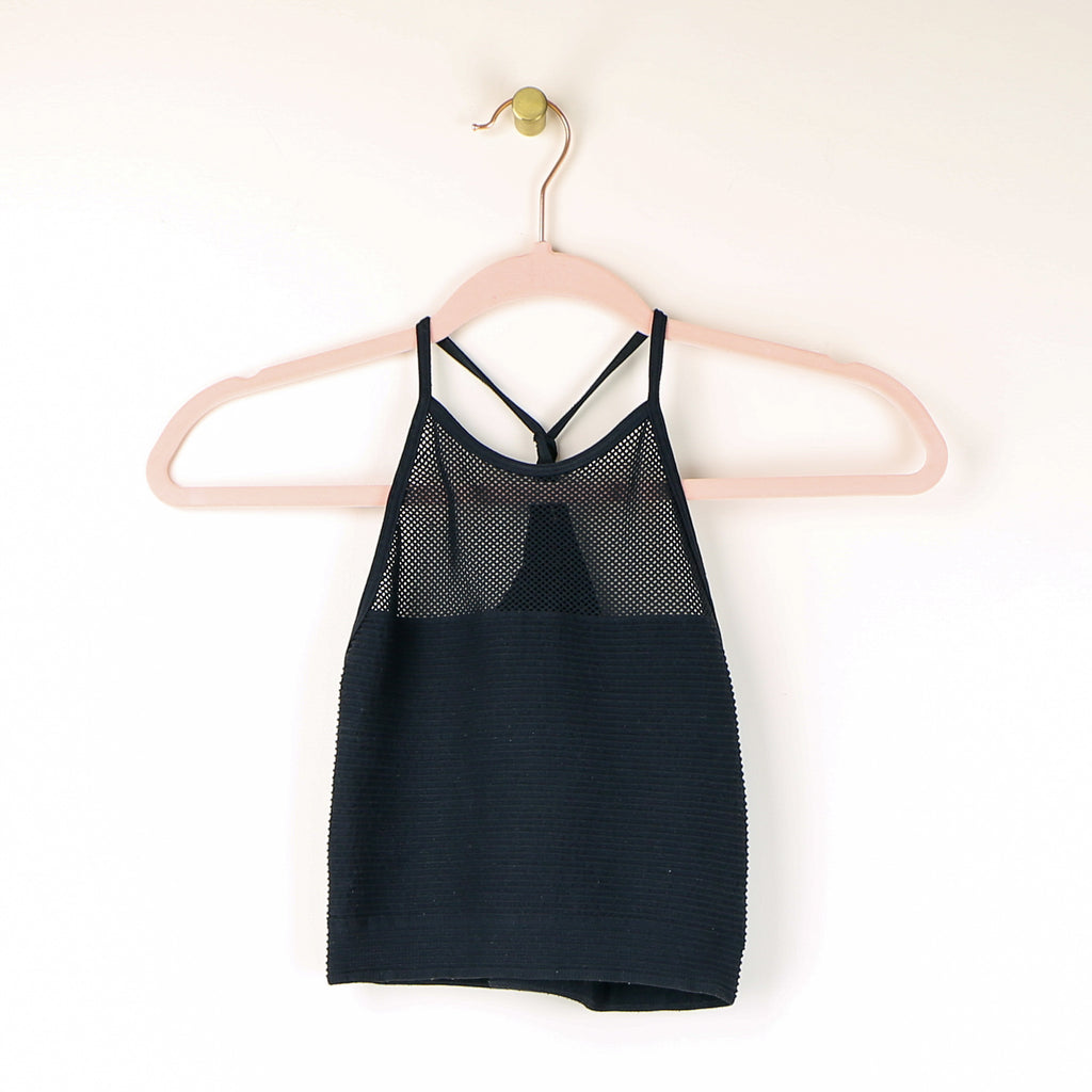 Mesh Racerback Crop Top - DI