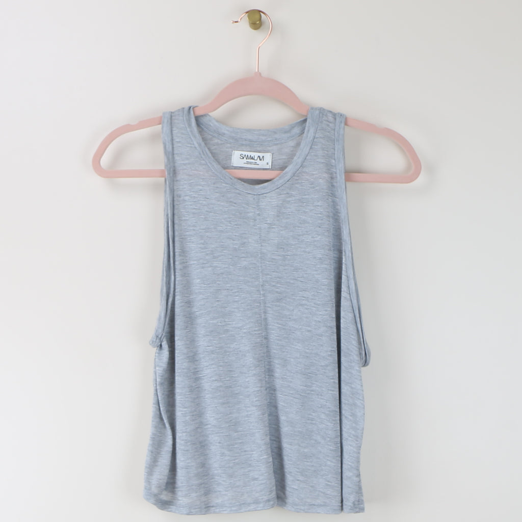 Newport Top - Heather Gray