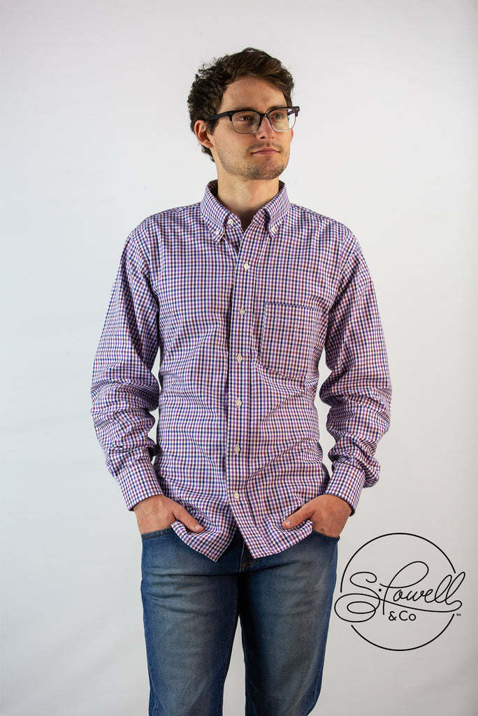 Men's Ranier Check Button-Down