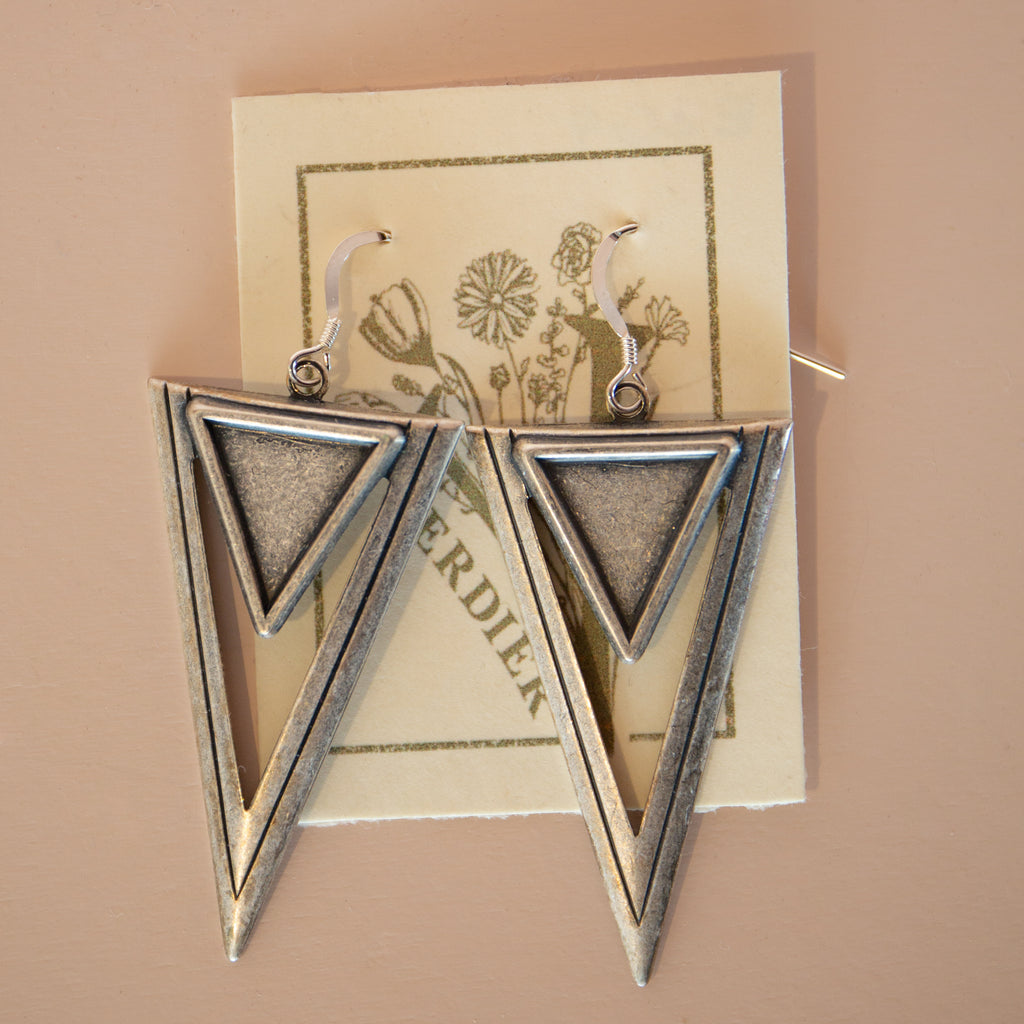 Retro Deco Earrings