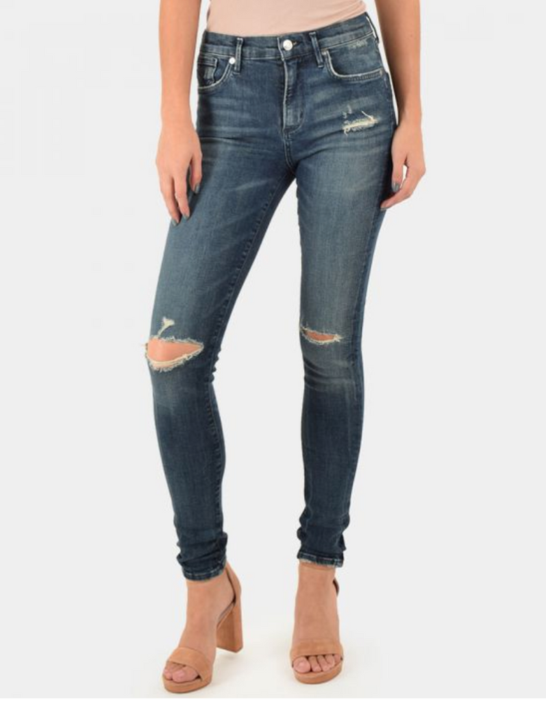 Sophie High-Rise Skinny in Dare