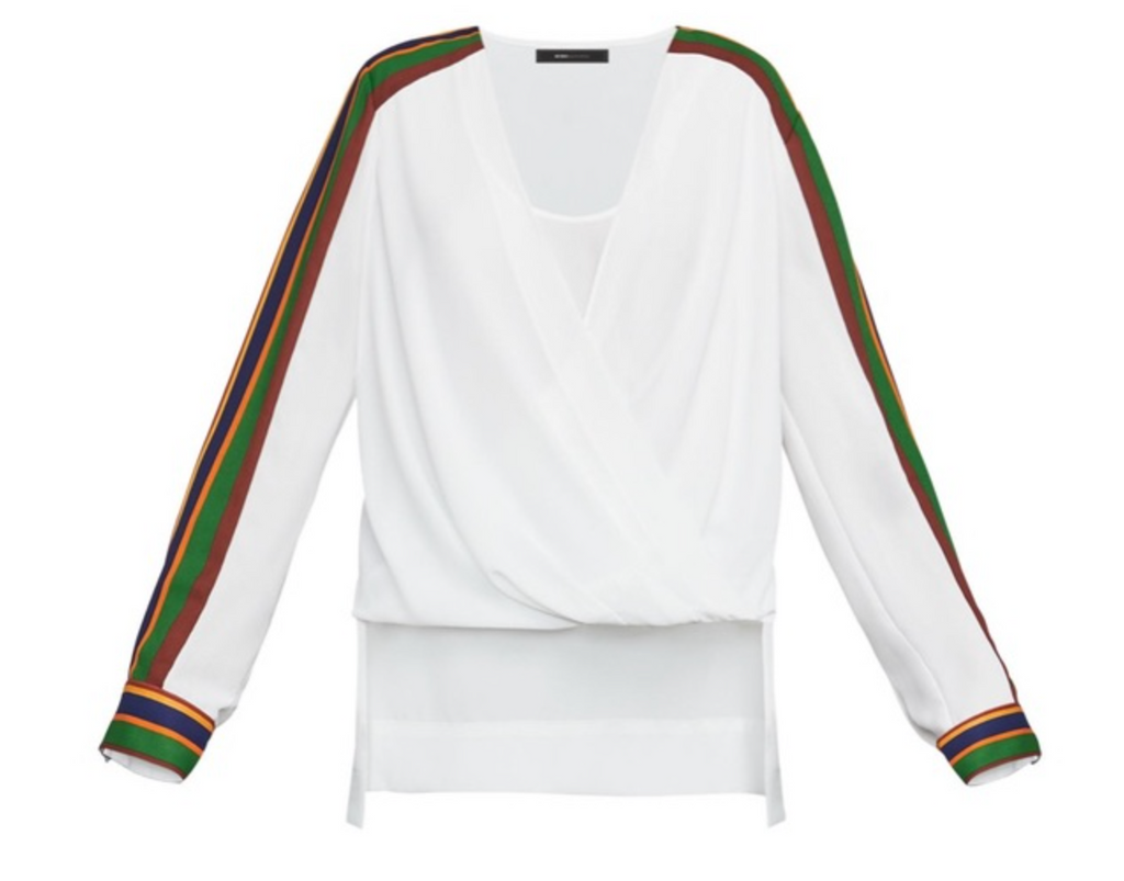 White Blouse w/Rainbow Sleeves - DI