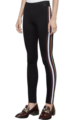 Monique Black Pant w/Rainbow Stripe - DI