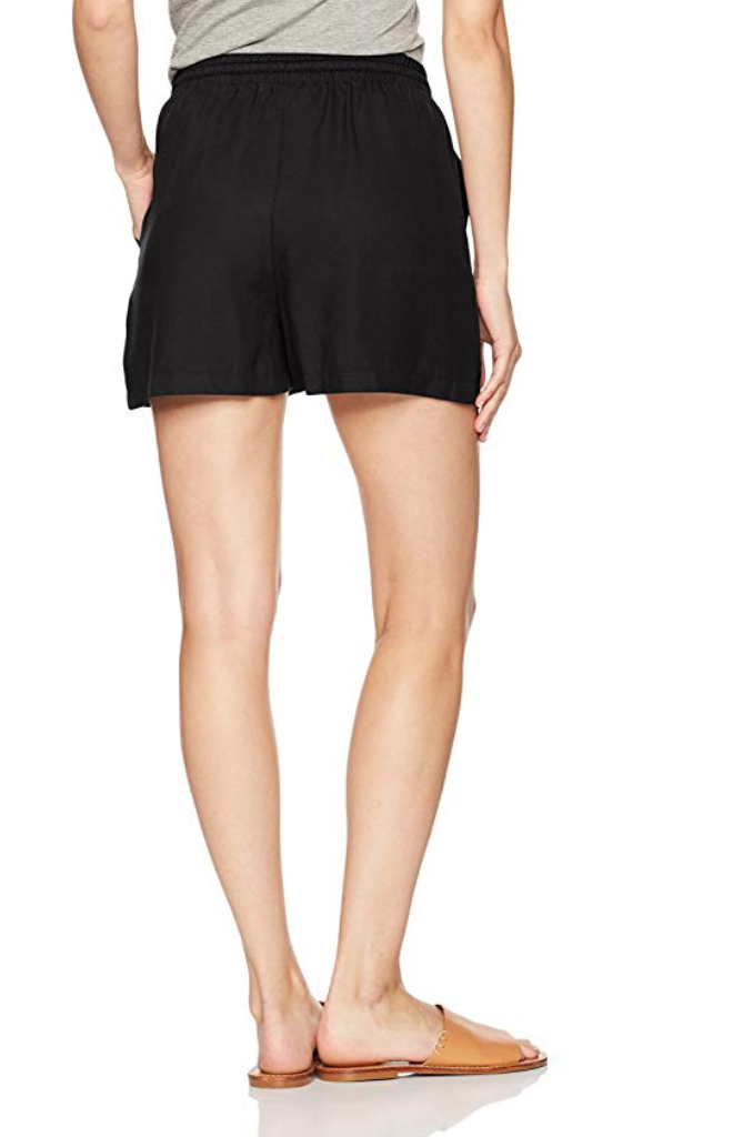 Black Drawstring Shorts - DI