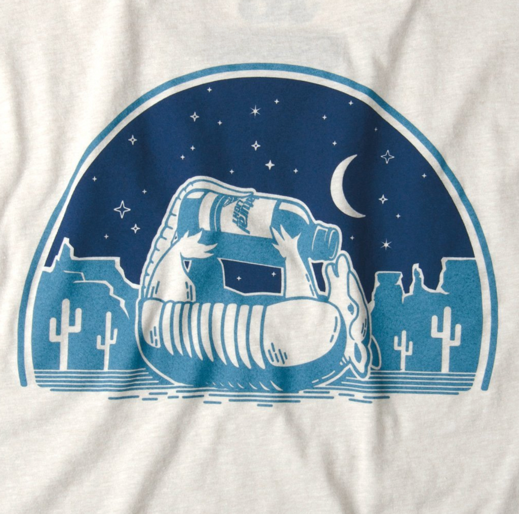 Natty Light Night Vintage Tee