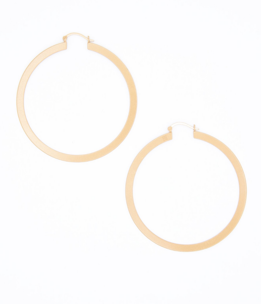 Naarke Hoop Earring - Rose Gold