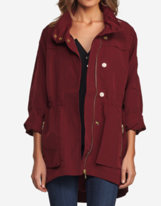 The Cory Jacket - Oxblood