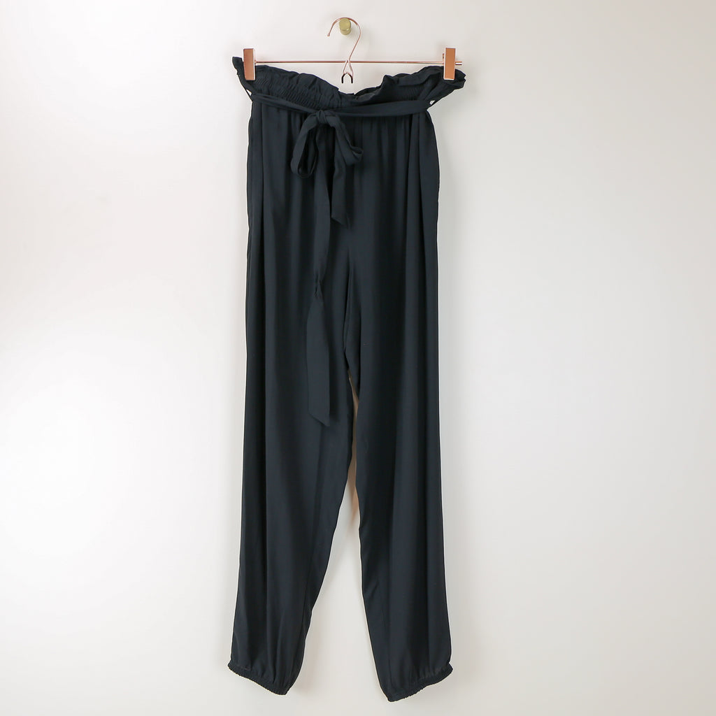 Slouchy Black Pants - DI