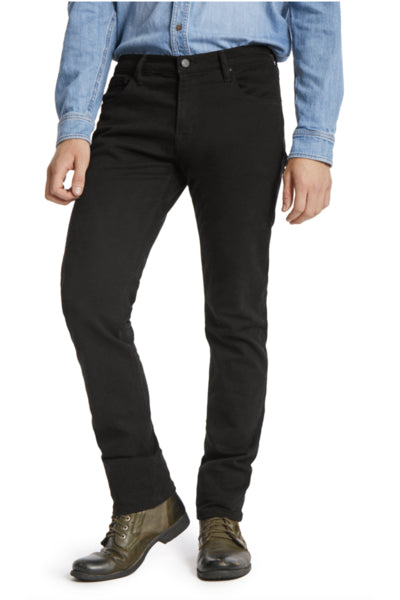 Stretch Twill Pant in Black