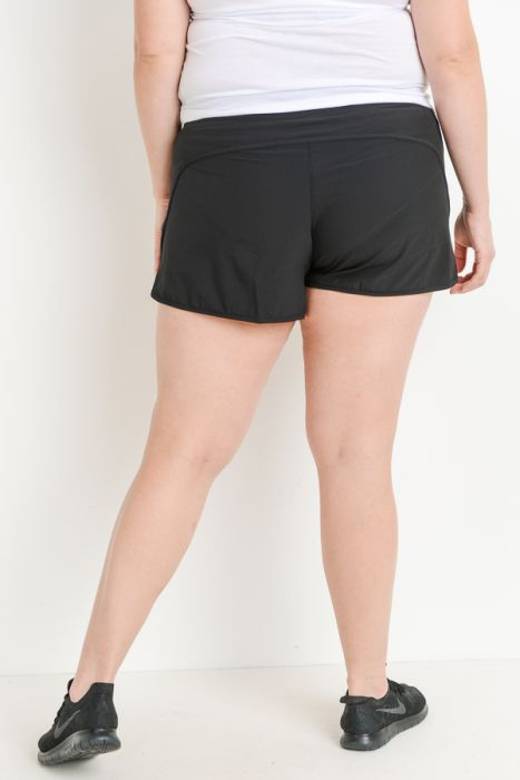 Tulip Active Shorts with Zippered Pockets