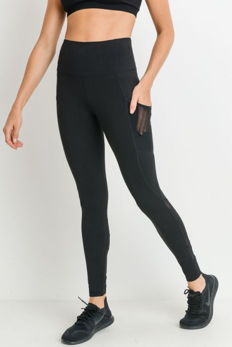 Highwaist Zig Zag Pocket Full Legging