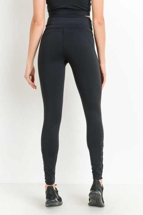 Highwaist Row of Rhombus Full Leggings
