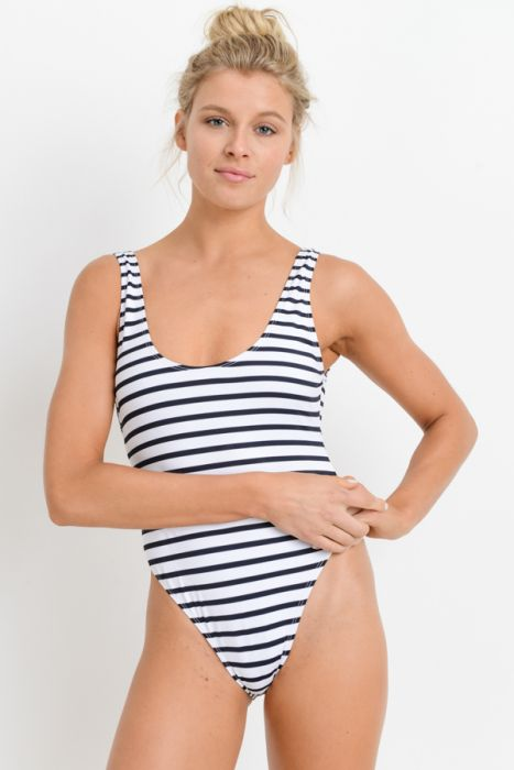 Ship Ahoy Striped One-Piece
