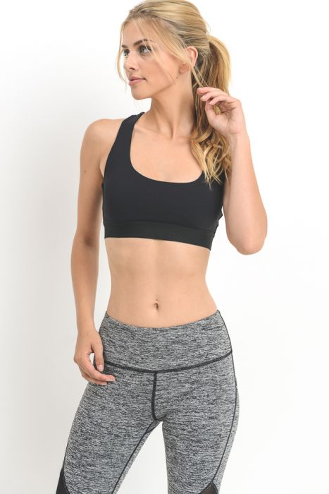 Criss-Cross Star Sports Bra