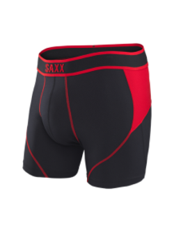 Kinetic Boxer in Black & Red - D