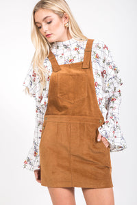 Overall Dress - Camel