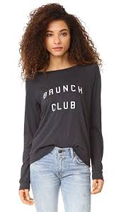 Brunch Club Long-Sleeved Top - DI