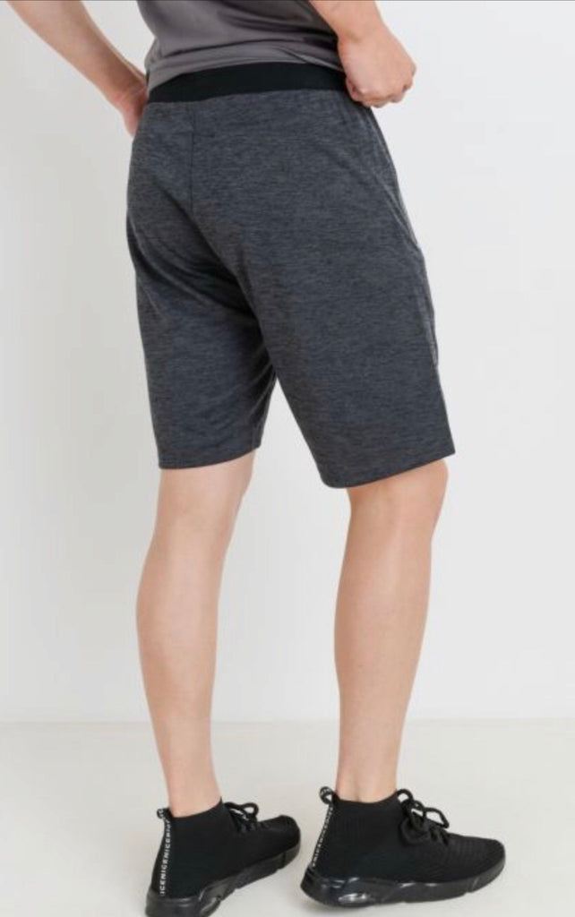Men's Athleisure Shorts with Zippered Pockets