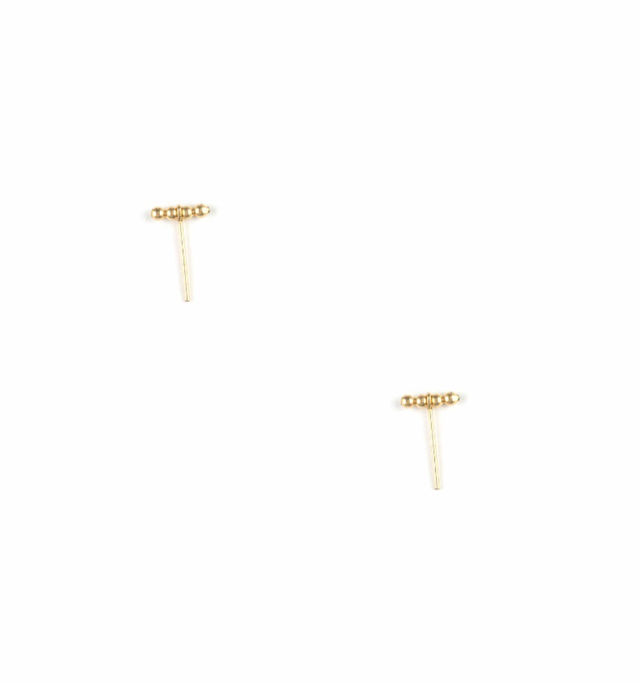 Coco Post Earring 14K
