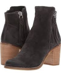 Lanie Boot in Anthracite Suede - DI