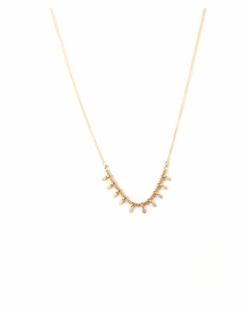 Stevie Necklace 14K Gold