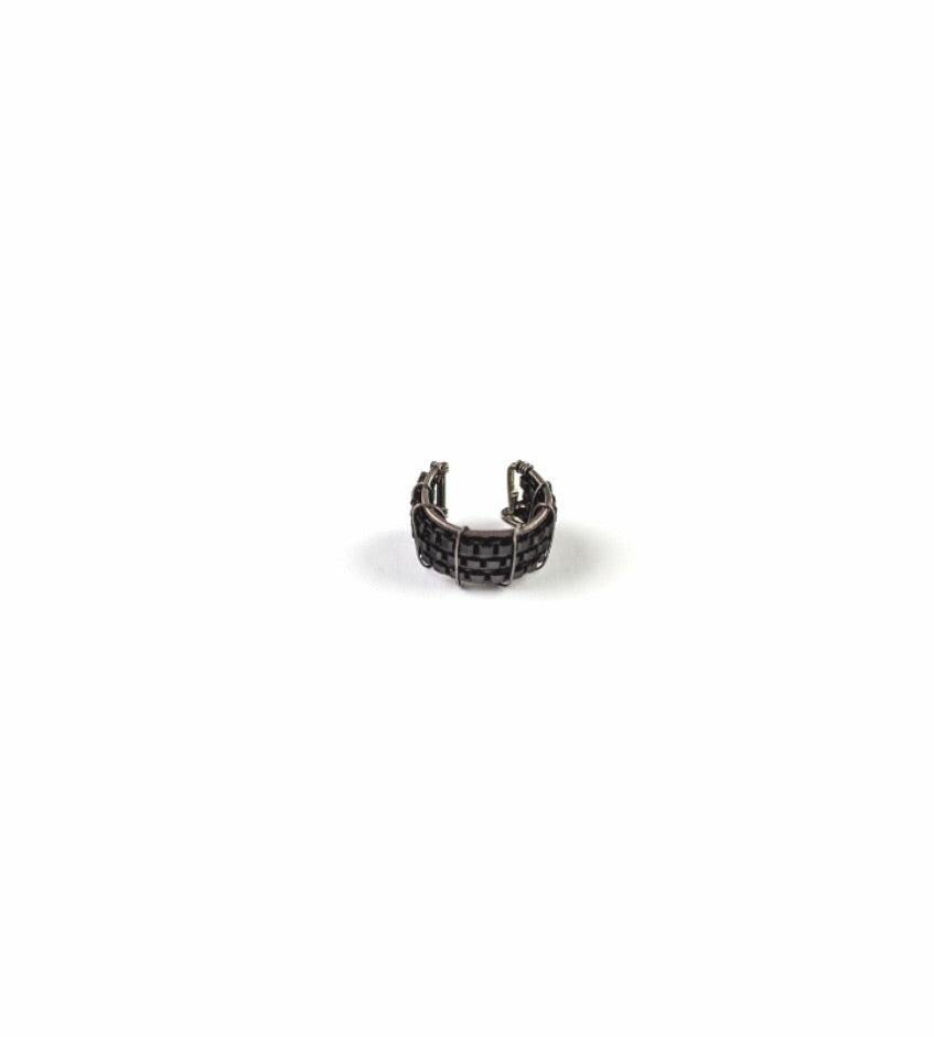 Carey Ear Cuff Black