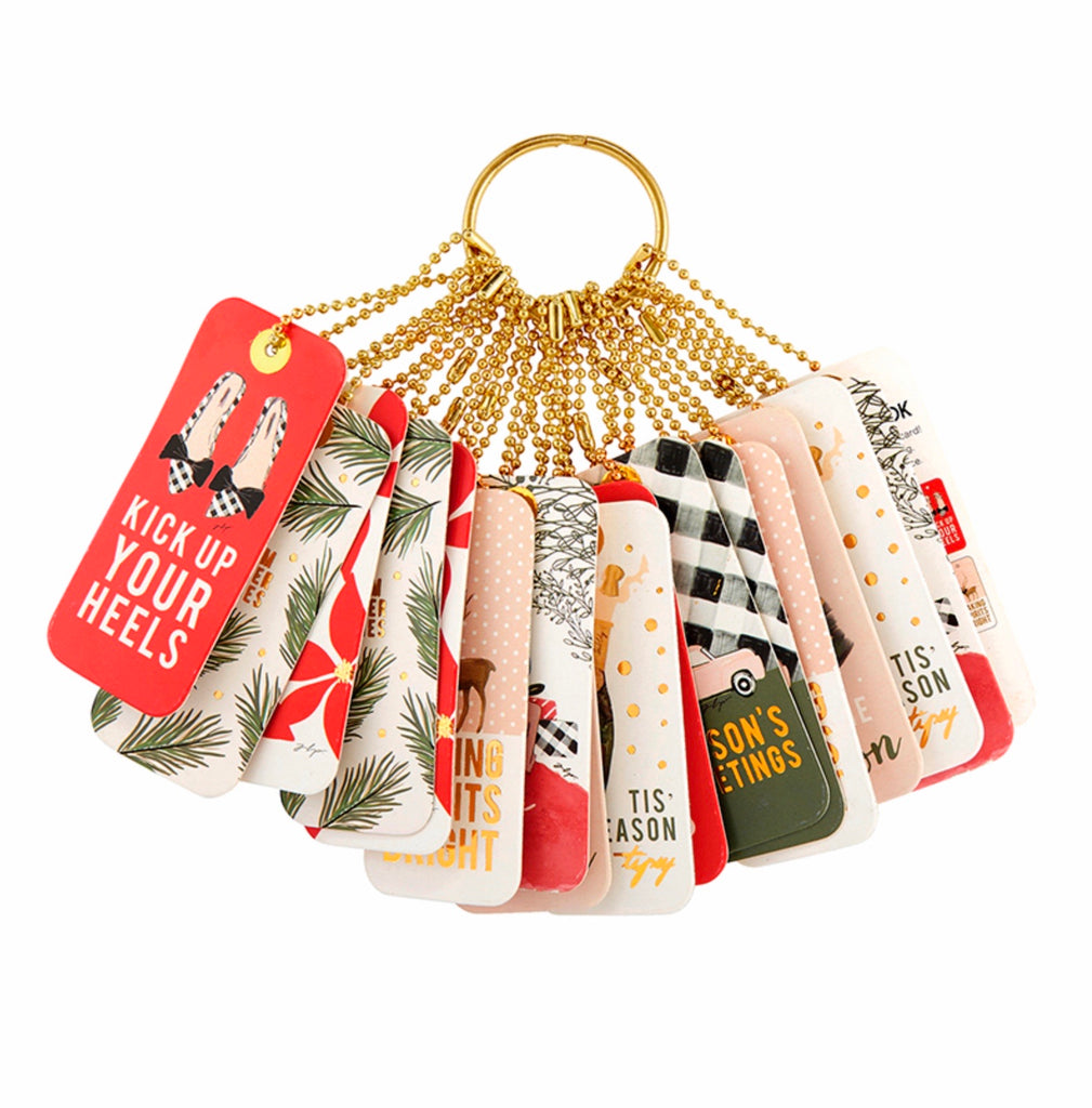 Holiday Gift Tag Book