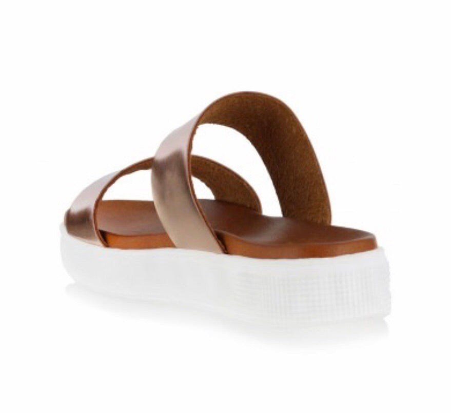 Rose Gold JessaBelle Slide Sandal