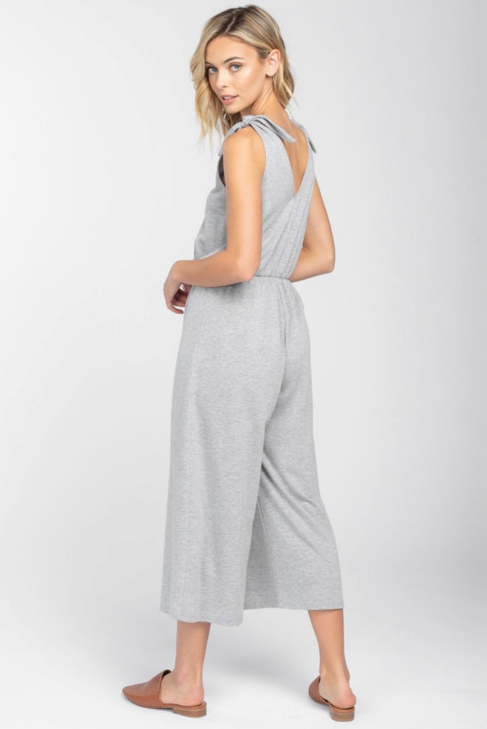 Shoulder Tie Jumpsuit