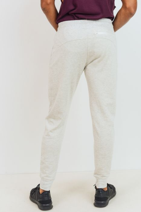 Fleece Sweatpants with Zippered Pockets