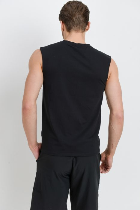 Mono B MEN - Cool Touch Cotton Blend Athletic Muscle Cut-Off Top