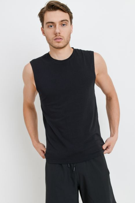 Mono B MEN - Supima® Blend Cut-Off Top