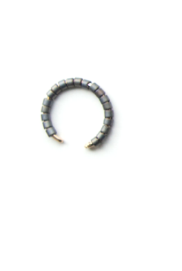 Haven West Micro Beaded Minimal Ear Cuff