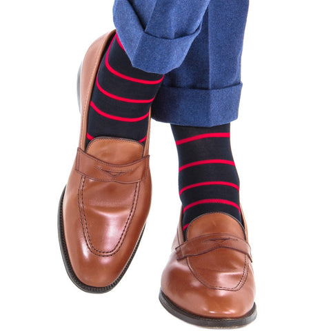 Stripe Cotton Sock