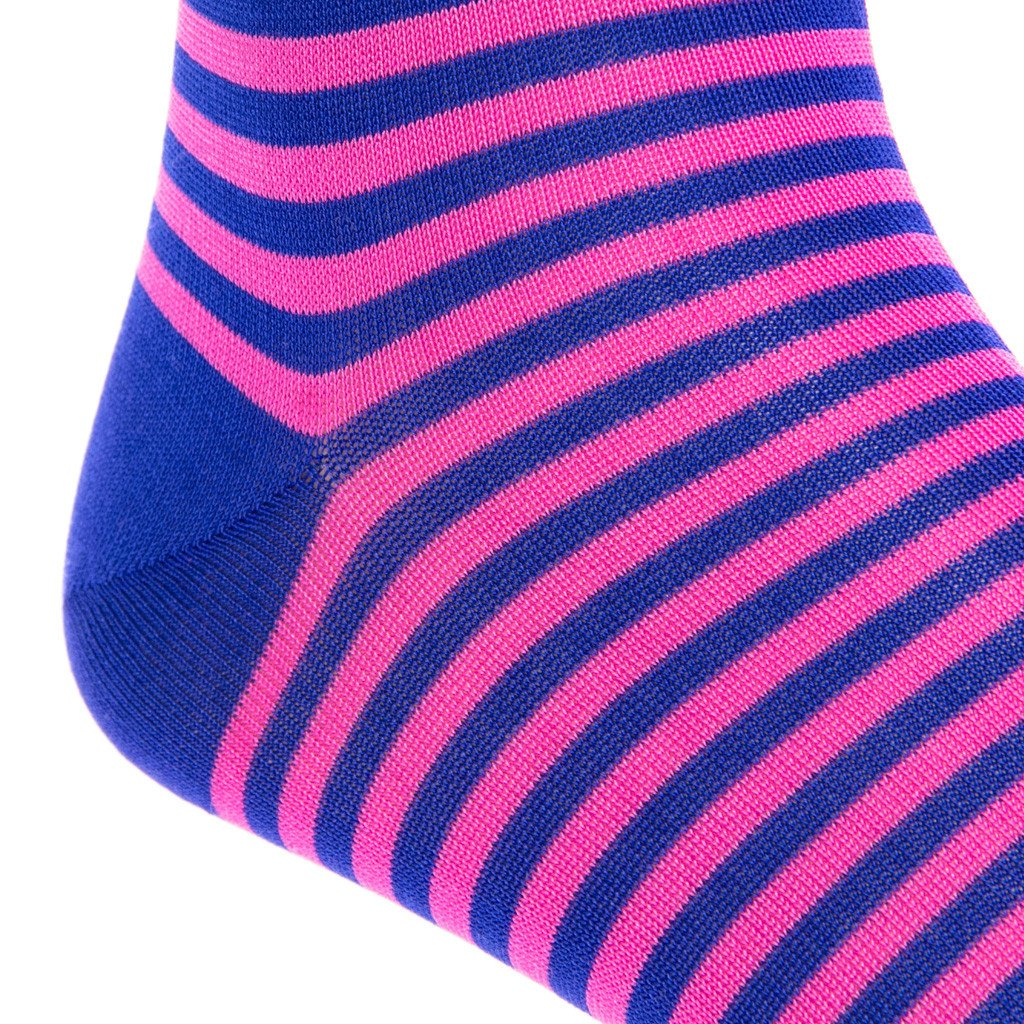 Repeating Stripe Cotton Sock