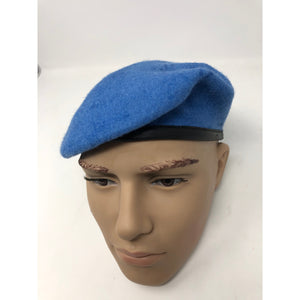 United Nations Small Crown Silk Lined UN Blue Beret