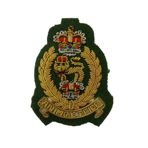 Beret Badge - AGC - Green B/G