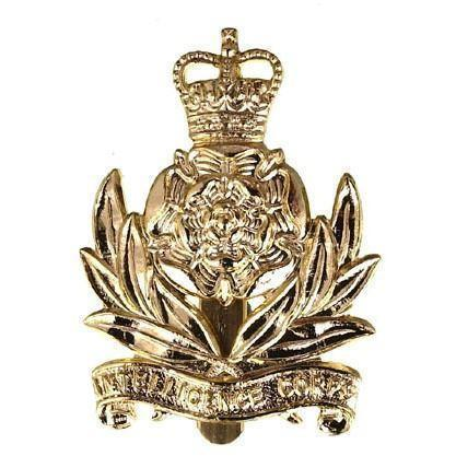 Cap Badge - Intelligence Corps - Brass [product_type] Ammo & Company - Military Direct