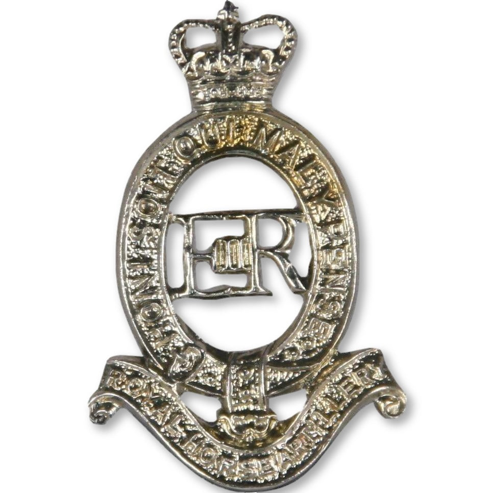 Cap Badge - RHA - Nickel Silver Shank & Pin [product_type] Ammo & Company - Military Direct