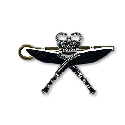 Cap Badge - Royal Gurkha Rifles, Chrome [product_type] Ammo & Company - Military Direct