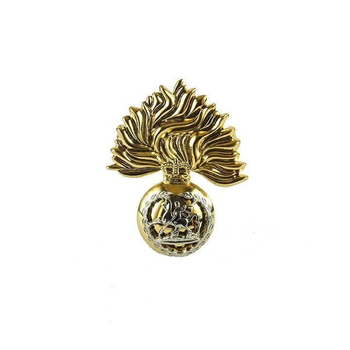 Cap Badge - RRF  - Brass & Nickle Silver [product_type] Ammo & Company - Military Direct